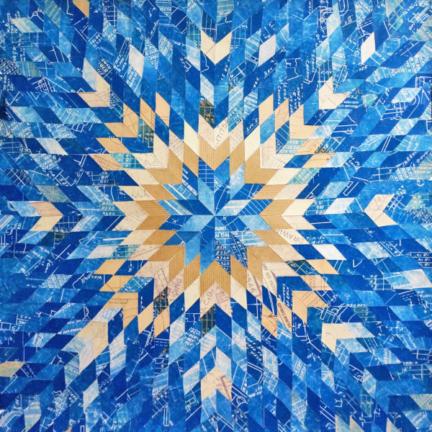 Blueprint Quilt #2